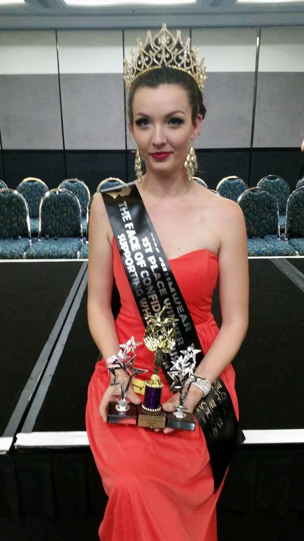 Jessie Morey, Miss Face Of Confidence 2016