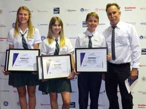 Coast students fly high at aviation awards