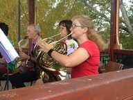 Reviving the tradition of music in the Rotunda in Spinks Park as a band venue, the Lismore City Concert Band presented a concert there on Monday afternoon, the week before Christmas.