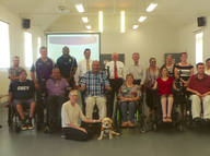 We support people with spinal injury and their families as they progress through their rehabilitation in the PA Hospital Spinal Unit,