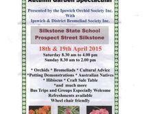 Autumn Garden Spectacular 18th & 19th April2015
