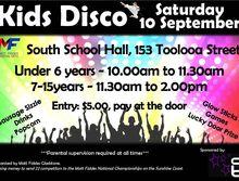 Kids Disco Fundraiser