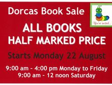Dorcas Book Sale
