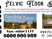 Pelvic Floor Strength Workshop & Lecture