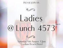 Ladies @ Lunch 4573