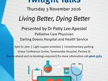 Twilight Talks: Living Better, Dying Better