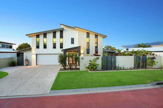 Be prepared to be impressed by the size, layout, and style of this contemporary family home. Situate...