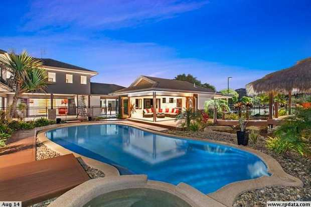 This spectacular property offers a large quality home perfectly designed to meld seamlessly with the...