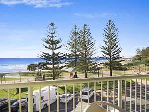 Opportunity Is Knocking With This Tightly Held Rainbow Bay Beachfront Apartment