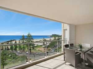Enjoy the Panoramic Ocean Vistas from the Beachfront Apartment