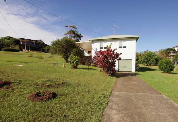 Located in the beach-side suburb of Woolgoolga is this charming high set home located on a corner bl...