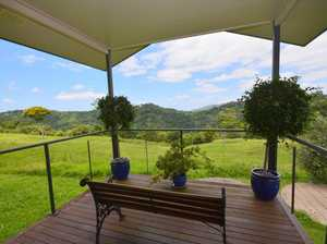 SECLUDED 22 ACRE RETREAT WITH VIEWS & COTTAGE