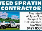 WEED SPRAYING CONTRACTOR