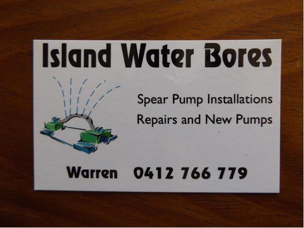 ISLAND WATER BORES   ►Bribie Island's longest serving local water driller & Australia...