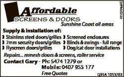 Sunshine Coast all areas