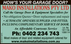 MAKO INSTALLATIONS PTY LTD