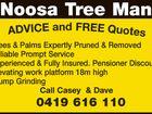 NOOSA TREE MAN