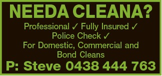 Professional  Fully Insured  Police Check  Excellent References   For Dome...