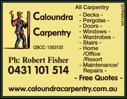 ALL CARPENTRY    Decks  Pergolas  Doors  Windows  Wardrobes  Stai...