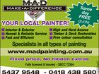 M.A.D MAKE A DIFFERENCE PAINTING