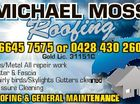 MICHAEL MOSS Roofing