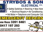 STRYBOS & SONS ELECTRICAL PTY. LTD.