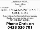CHRIS BISHOP BUILDING & MAINTENANCE