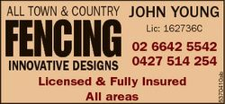 INNOVATIVE DESIGNS JOHN YOUNG 02 6642 5542 or 0427 514 254 Licensed & Fully I...