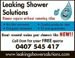 Shower repairs without removing tiles