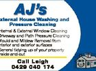 AJ's External House Washing and Pressure Cleaning