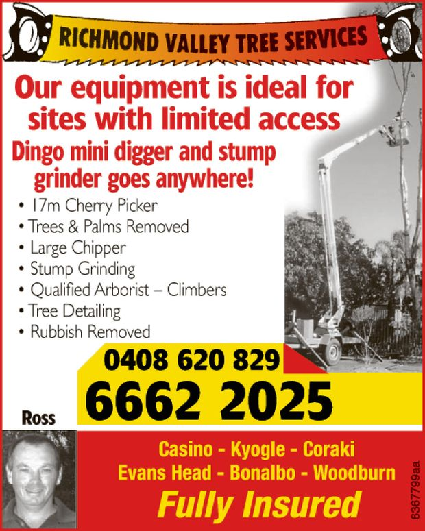 Our equipment is ideal for sites with limited access