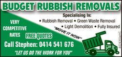"""LET US DO THE WORK FOR YOU"" 