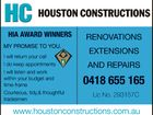HOUSTON CONSTRUCTIONS.