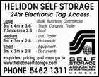 HELIDON SELF STORAGE