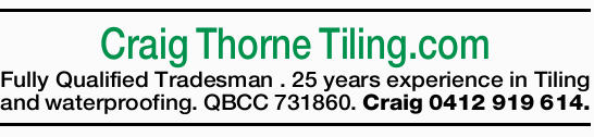 Craig Thorne Tiling.com
