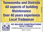 CK Walker Constructions