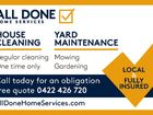 ALL DONE HOME SERVICES
