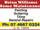 Brian Williams Home Maintenance