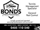 BONDS TERMITE MANAGEMENT & PEST CONTROL