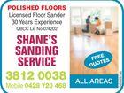 Shane's Sanding Service