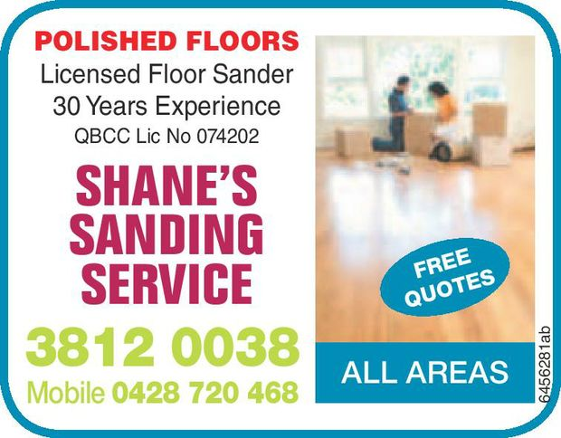 Shane's Sanding Service