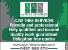 CJW TREE SERVICES