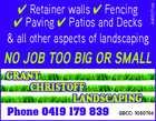 Grant Christoff landscaping
