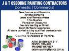 J & T Osborne Painting Contractors