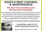 Fezzy's Pest Control and Maintenance
