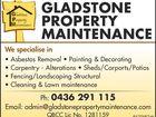 GLADSTONE PROPERTY MAINTENANCE