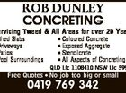 ROB DUNLEY CONCRETING