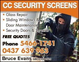 * Glass Repair   * Sliding Windows & Door Maintenance   * Security Doors & Screen...