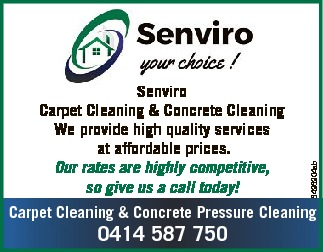 Carpet Cleaning & Concrete Cleaning