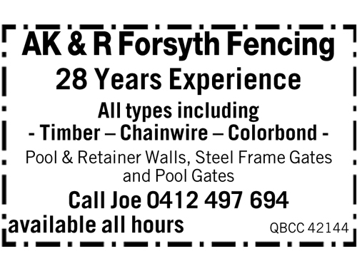 28 Years Experience   All types including    Timber  Chainwire  Colorb...